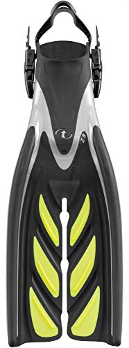 TUSA SF-15 X-Pert Zoom Z3 Open Heel Scuba Diving Fins, Small, Flash Yellow