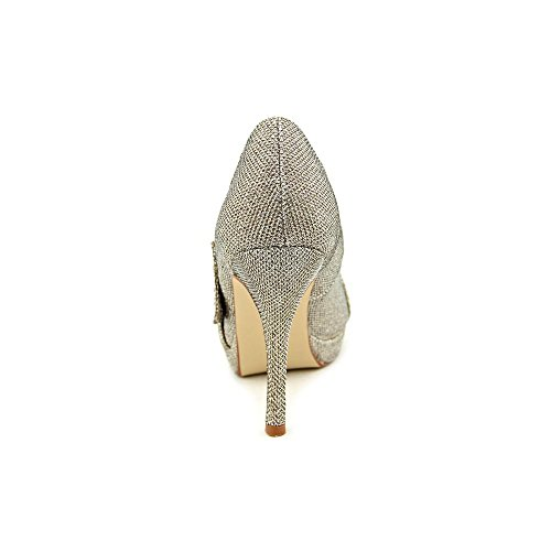 Sparkle Odessa Peep Platform Champagne Caparros Toe Sandal vYnUBx1