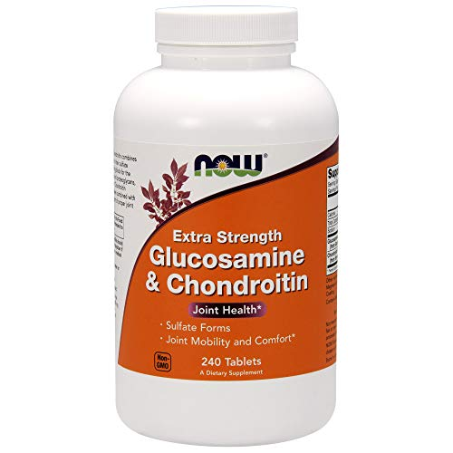 Now Glucosamine & Chondroitin Extra Strength,240 Tablets