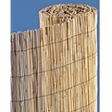 Natural Bamboo Reed Fence Roll 4' x 10'