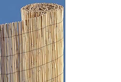 All Natural Bamboo Reed Fence Roll 4u0027 X ...