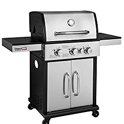 Royal Gourmet Gg3302s 3 Burner Cabinet Liquid Propane Gas Grill With Side Burner 45 000 Btu Outdoor Camping Cooking Stainless