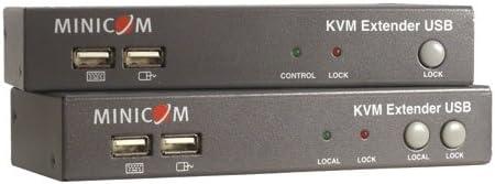 2-Port KVM TAA GSA 0DT60001 TRIPP LITE Minicom KVM Extender USB Local Port