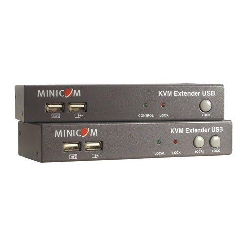 TRIPP LITE Minicom KVM Extender USB local port + 2-Port KVM TAA GSA (0DT60001) by Tripp Lite (Image #4)