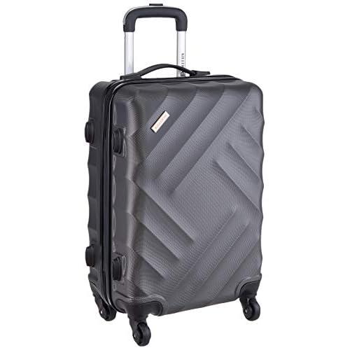 LD KILLER ABS 58 cms Dark Grey Hardsided Cabin Luggage SKYDA Lightning STNDRD DKGR