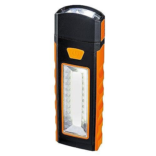 Paulmann Leuchten 789.70Function Work Light Orange plastique 78970, plastique, noir, 16x 5x 2cm