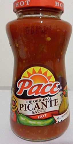 Salsa Picante Sauce Hot - Pace The Original Picante Sauce Hot 16 Oz (Pack of 6)