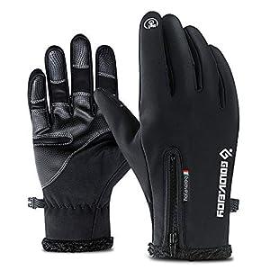 Winter Gloves,Windproof Warm Touchscreen Gloves Men Women For Cycling Running Outdoor Activities