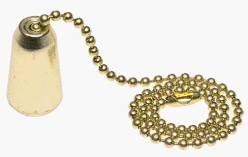 Westinghouse 7700500 Solid Brass Teardrop Pull Chain