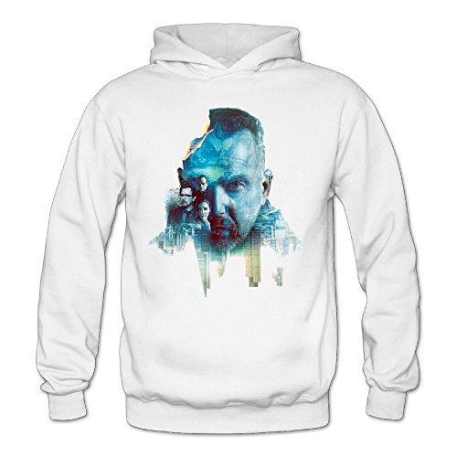 [XJBD Women's Criminal New Design Sweatshirt White Size M] (Brad Pitt Costume Ideas)