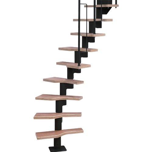 (Dolle Graz Modular Staircases - Stairway Kit 12 Treads 95