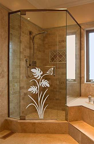 Rs Interhandel Aufkleber Sichtschutz Floral Dusche Gd112 Duschwand