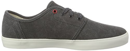 Timberland Newport Bay_Newport Bay Canvas Plain, Men's Low-Top Sneakers Black (Black)