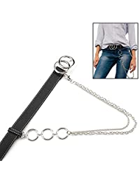big-time Fashion Hanging Chain Belt for Boys & Girls with Adjustable Buckle Belt ,2.8 x 100 cm Method Relaxing