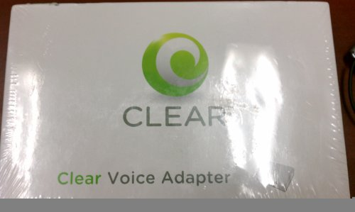 CLEAR VOIP Voice Phone Adapter router Linksys SPA2102-SF