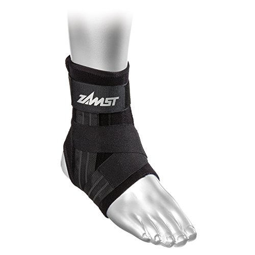 Zamst A1 Left Ankle Brace, Black, Medium