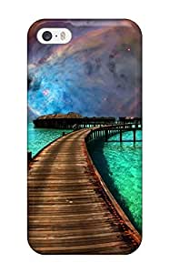 For Iphone Case, High Quality Nebula Resort For Iphone 5/5s Cover Cases