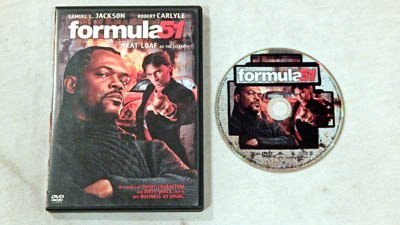Formula 51 Widescreen & Full Screen Edition DVD Movie - Sony Pictures 2003 - A USED DVD Movie - Graded 9.6