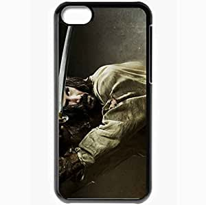 Personalized iPhone 5C Cell phone Case/Cover Skin 47 Ronin Black