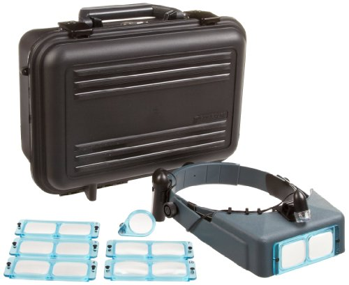 Donegan DA-S1 OptiVISOR Complete Kit, Carrying Case by Donegan Optical