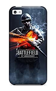 Iphone Case - Tpu Case Protective For Iphone 5c- Battlefield 10th Anniversary