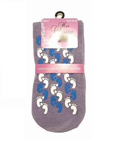 1 FASHION Foot femme unique MAGNUM Chaussons LTD taille pour Print Lilac fxf0w