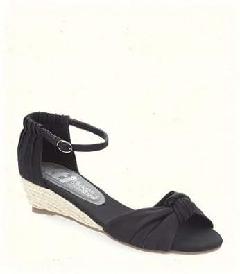 XTI - Sandalias de vestir para mujer negro negro 38