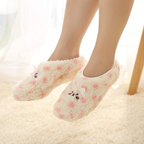 Winter Cute Animal Warm Socks Women Towel Fuzzy Socks Candy Color Thick Floor Meias Calcetines Mujer