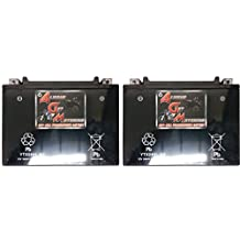 AGM Brand Or Similar Replacement For YTX24HL-BS Battery For Bombardier Ski-Doo CK3 Types 1999-2003 Sealed Maintenace Free 12V Battery High Performance SMF OEM Maintenance Free Powersport Motorcycle ATV Scooter Snowmobile Watercraft KMG -2 Pack