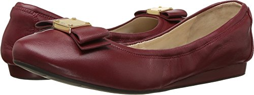 Cole Haan Women's Tali Bow Ballet Sun Dried Tomato Leather Loafer by Cole Haan