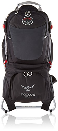 Osprey Packs Poco AG Plus Child Carrier, Black