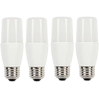 [4-Pack] 60-Watt Equivalent T7 Bright White LED Light Bulb with Medium Base