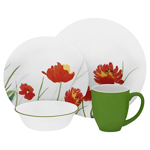 green corelle dishes - 5