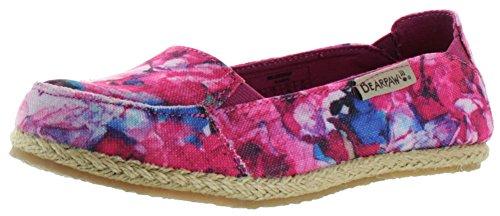 Bearpaw Damesshort Loafers Roze Bloemen