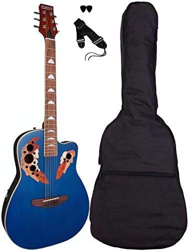 Street – Ova de 5 de BL Western de Guitar, delgado Guitarra ...