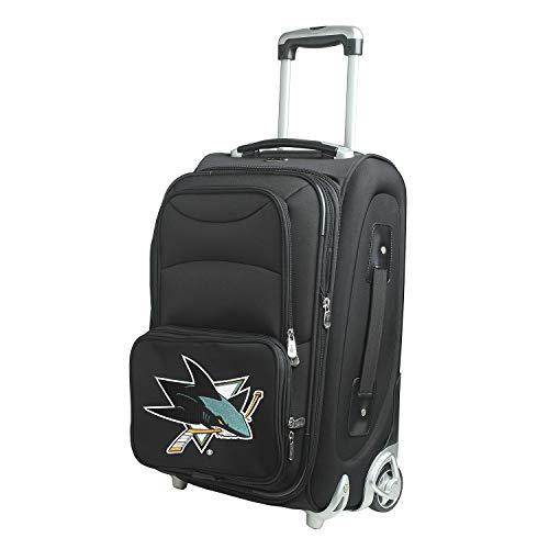 Denco NHL San Jose Sharks 21-inch Carry-On Luggage