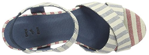 Mujer Stripe Shoe Bear con Plataforma Multicolor Blue Sandalias The 170 Alec nqtqxwr0F