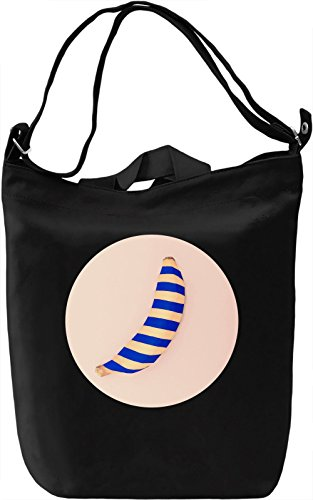 Pop Art Banana Borsa Giornaliera Canvas Canvas Day Bag| 100% Premium Cotton Canvas| DTG Printing|