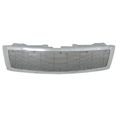 Gmc Sonoma Billet Grille - Paramount Restyling 33-0142 Cut-Out Billet Grille with 4 mm Horizontal Bars, 1 Piece
