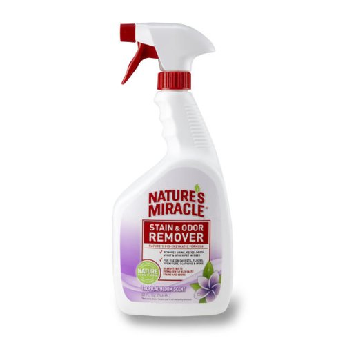 Nature's Miracle Stain Odor Remover Tropical Bloom Scent, 32-Ounce, My Pet Supplies