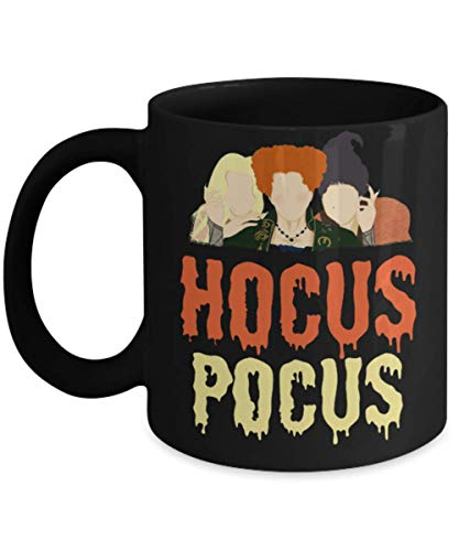 Squad Hocus Pocus Halloween Mug, hocus pocus billy bones butcherson halloween saints Mug, samhain, salem spooky creepy, Gift Dad for Father's day Dadd -