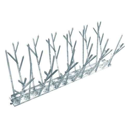 2'' Bird-X Polycarbonate Bird Spikes (100 One Foot Strips) - BMC-BDX SP-100-N