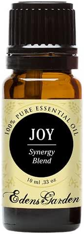 Joy Synergy Blend Essential Oil by Edens Garden (Comparable to DoTerra's Elevation & Young Living's Joy Blend)- 10 ml