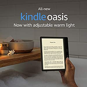 "All-New Kindle Oasis (10th Gen)  - Now with adjustable warm light, 7"" Display, Waterproof, 8 GB, WiFi (Graphite)"