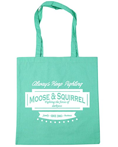 2005 Moose amp; litres Mint Beach 10 Gym Squirrel Family HippoWarehouse 42cm Business x38cm Tote Bag Shopping Since nYqdFBwBfx