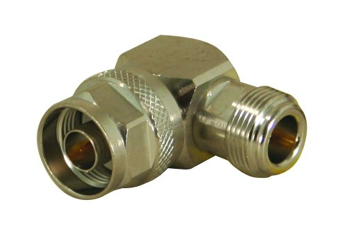 Cal Test Electronics CT3318 In Series Instrument Grade Coaxial Adapter, N Type Right-Angle Male x Female
