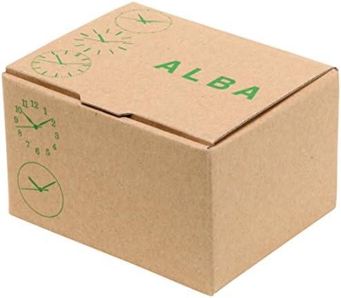 Alba AEGD559 Montre Solaire Rigide pour Femme avec Pression d\'eau 10