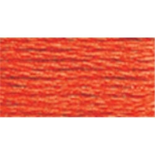 DMC 6 ストランド刺繍綿 100 グラム コーン オレンジ ブライト B001DEG6KA