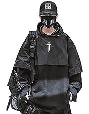 MFCT Men's Lightweight Pancho Techwear Jacket