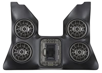SSV Works WP-WCO4 Arctic Cat Wildcat and Wildcat 4 BLUETOOTH 4 Speaker Overhead Stereo System